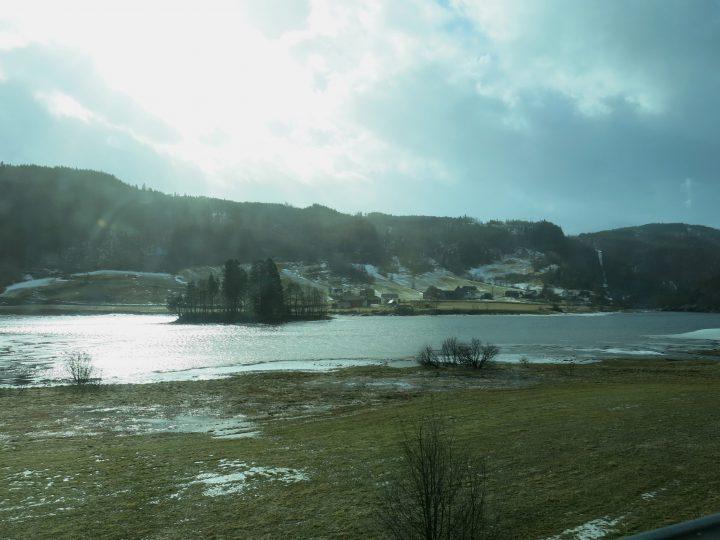 Ausblick – Bergen Bahn